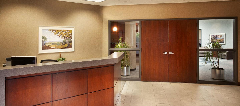 McCarthy Bush reception area