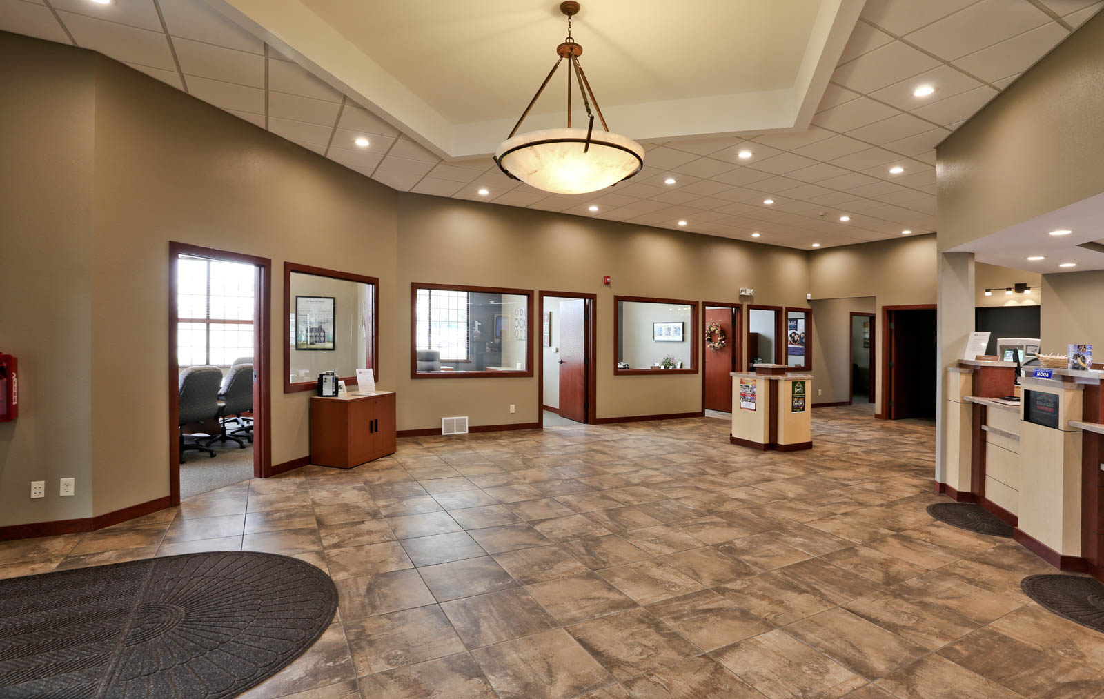First Credit Union Interior View