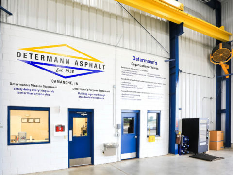 Determan Asphalt Building Interior