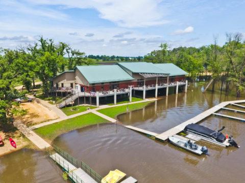 Aerial View of Eco Tourism Center